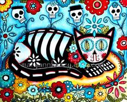 cat_art_print_skeleton_day_of_dead_RS