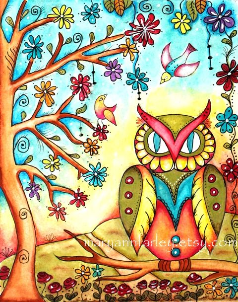 giclee_art_print_owl_garden_1