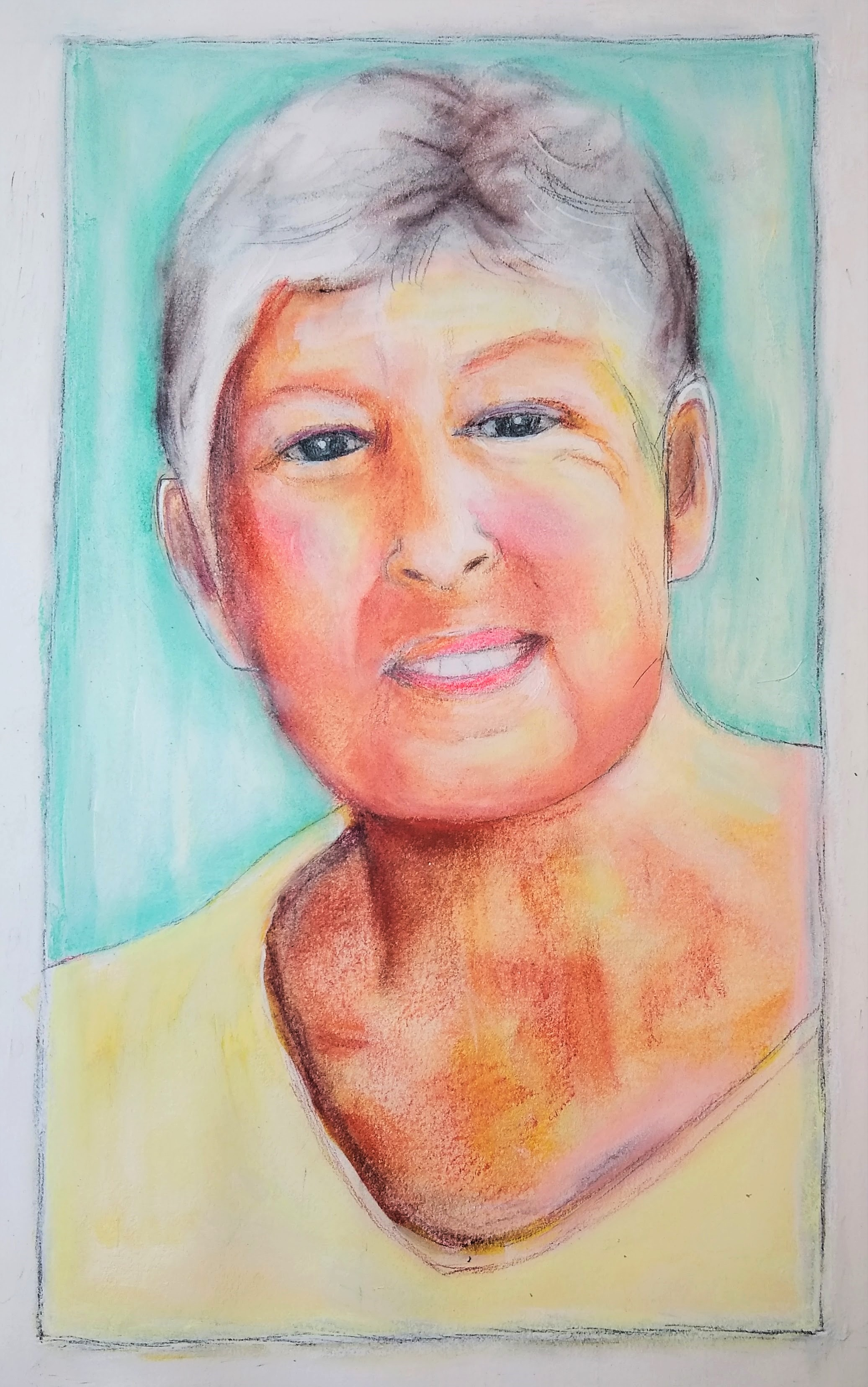 Liz's Aunt Bobbi (gift portrait)