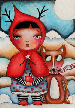 Red Riding Hood and Friend