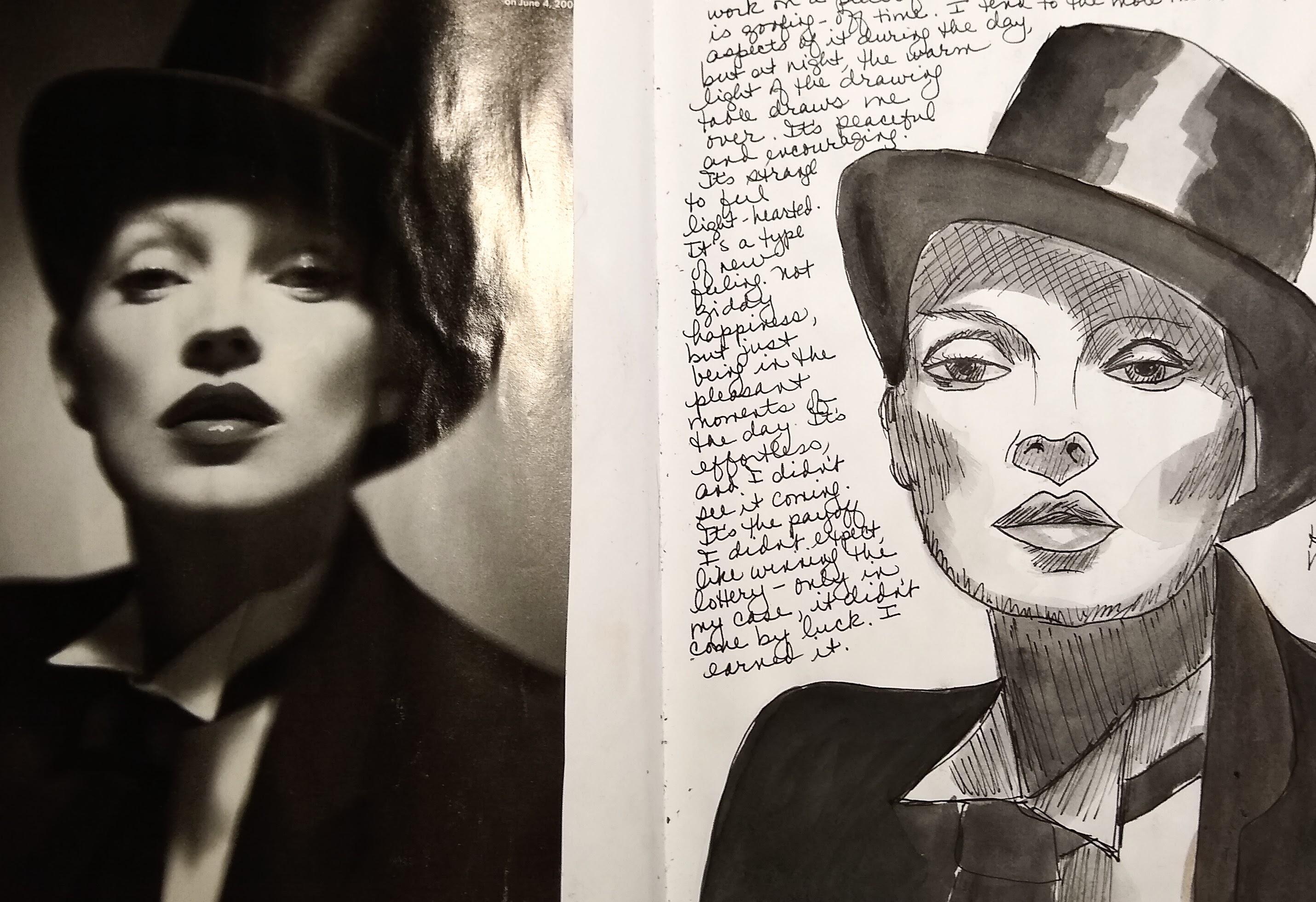 Kate Moss as Marlene