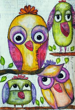 Birds Talking It Over