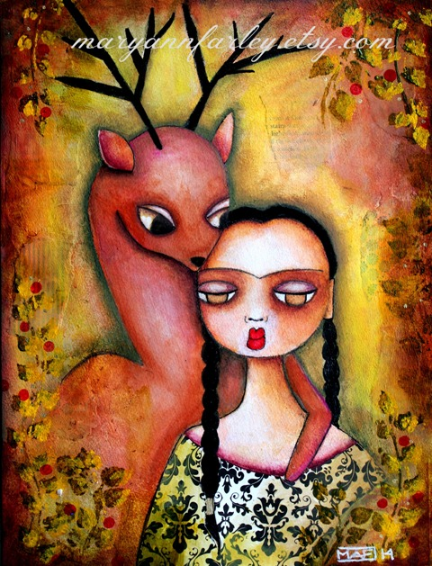 Frida and the Deer