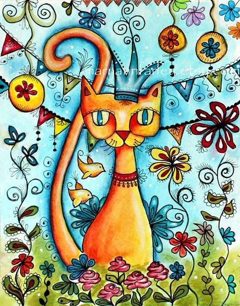 giclee_art_print_cat_garden_1