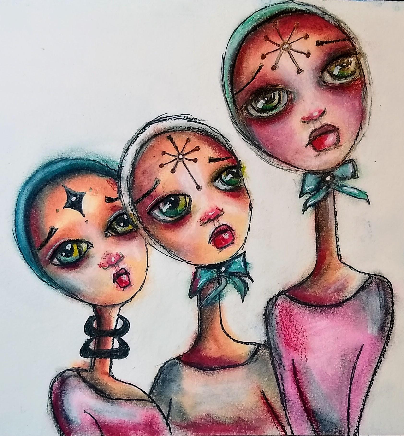 Alien Handmaids