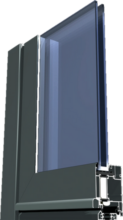 ALU Okna Model ALUK 67mm