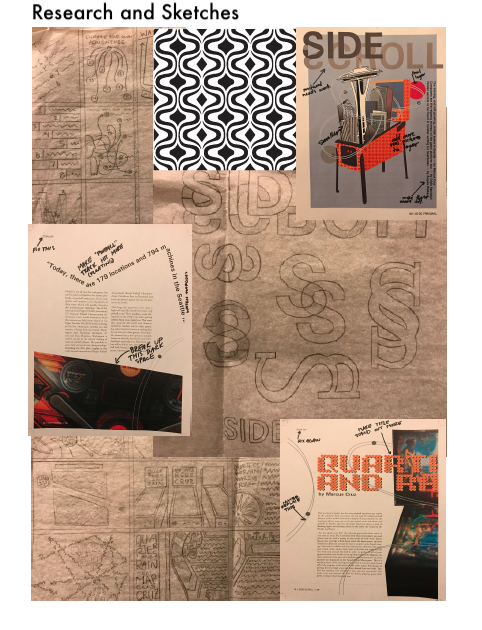 MOOD BOARD AND SKETCHES 2