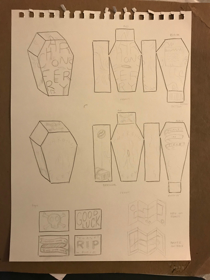 FULL PACKAGING SKETCHES