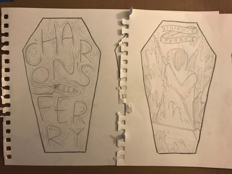 COVER SKETCHES