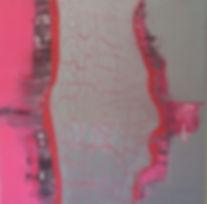 Befreiung des Pinks, 100X100cm, Acryl au