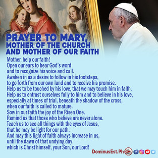 Prayer to Mary, Mother of the Church