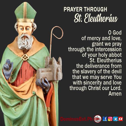 September 6 Prayer through Eleutherius.j