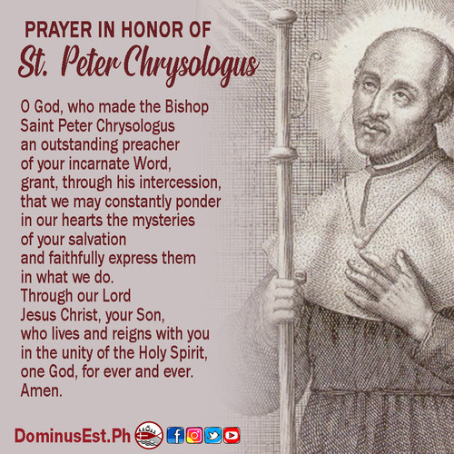 July 30 Prayer to Peter Chrysologus.jpg