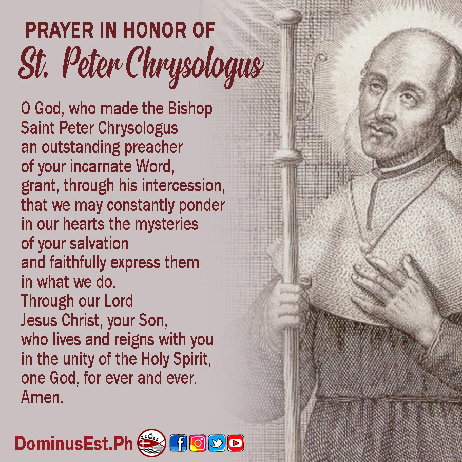 July 30 Prayer to Peter Chrysologus.jpg
