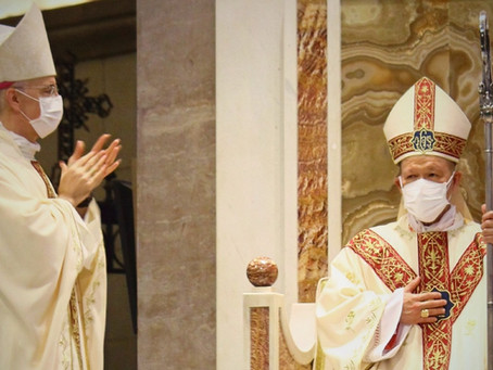 Nuncio's Message on Cardinal Advincula's Installation