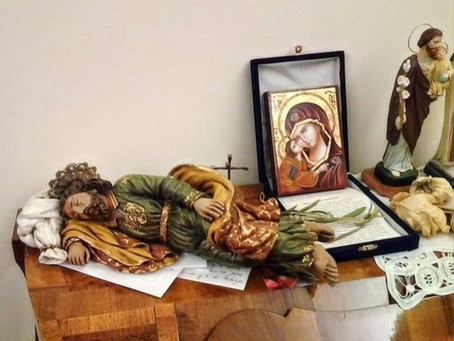 Ite Ad Sleeping St Joseph