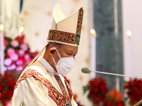 Tidbits of the Homily of Cardinal Joe