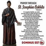 February 8 Prayer through Josephine Bakhita.j