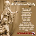 March 7 Prayer through Pepetua and Felicit