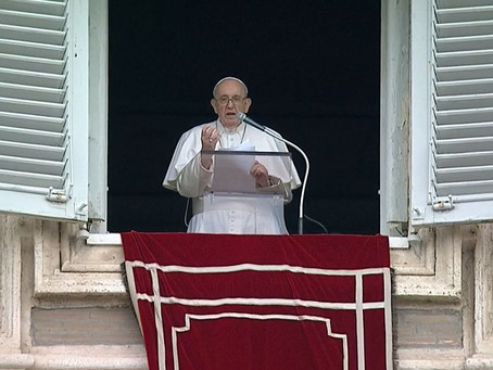 Pope Francis' Message During The July 25, 2021 Angelus