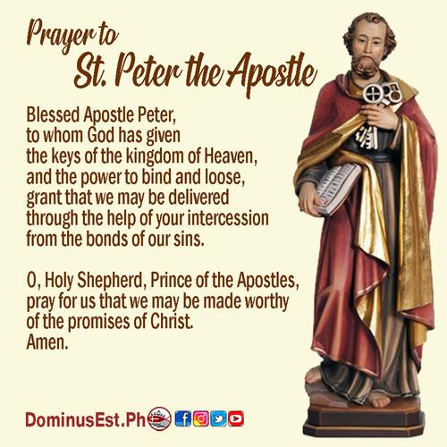 June 29 Prayer to Peter the Apostle.jpg