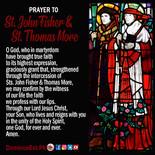 June 22 Prayer to Thomas More and John F