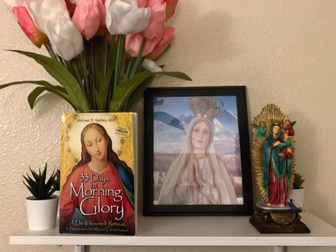 Marian Consecration: 33 Days to A Gloriously New Morning