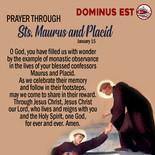 January 15 Prayer through Maurus and Pla