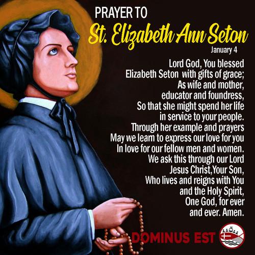 january 4 Prayer to Elizabeth Seton.jpg
