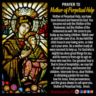 Prayer to Mother of Perpetual Help