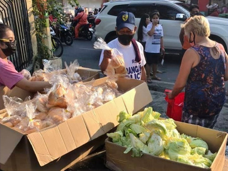 San Roque Cathedral Community Pantry: Church of the Poor Comes Alive
