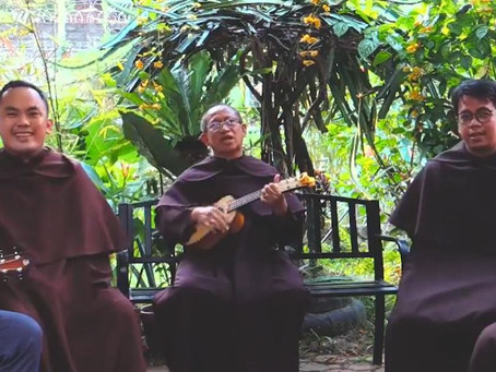 Carmelites sing to St. Joseph in celebration of Father's Day