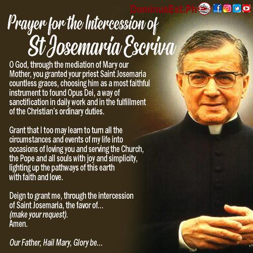 June 26 Prayer to Josemaria Escriva.jpg