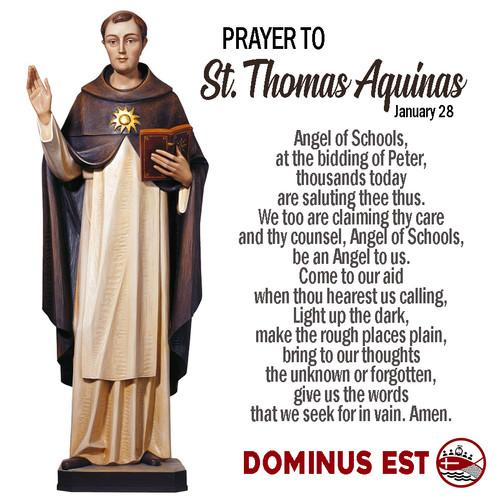 January 28 Prayer to Thomas Aquinas.jpg