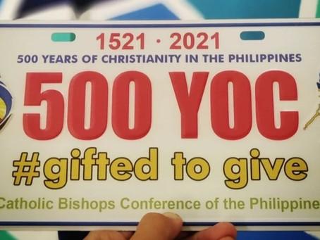 500 YOC Commemorative Plate