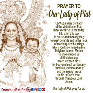 Prayer to Our Lady of Piat