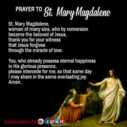 July 22 Prayer to Mary Magdalene.jpg