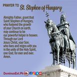 August 16 Prayer to Stephen of Hungary.j