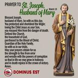 March 19 Prayer to Joseph, Husband of Mary