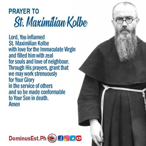 August 14 Prayer to Maximilian Kolbe.jpg