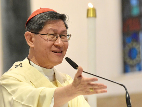 Cardinal Tagle Sings Heartfelt Song to Our Lady Of Good Voyage