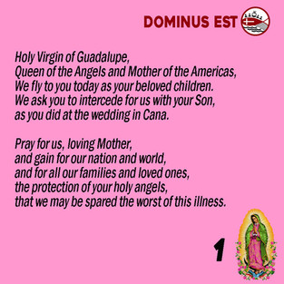 Prayer to Our Lady of Guadalupe 1