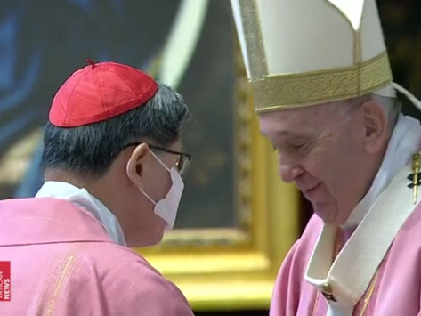 Homily of Pope Francis