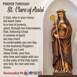 August 11 Prayer to Clare of Assisi.jpg