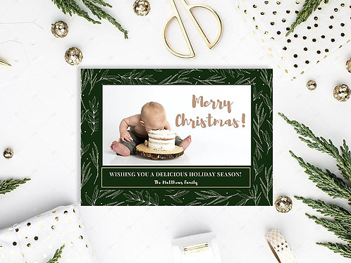 Personalized Holiday Card- Traditional