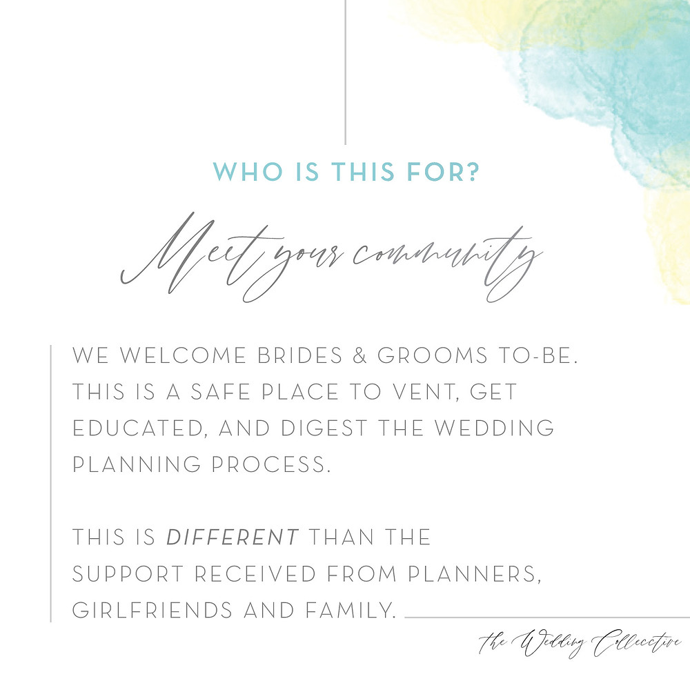 Who is the wedding collective for?