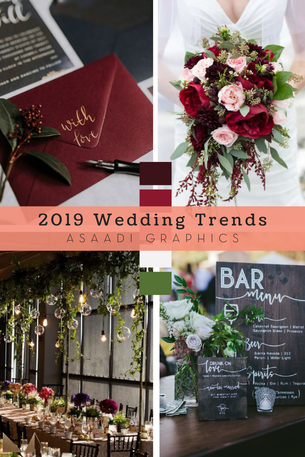 2019 Wedding Trends | Here are insights we collected from 2019 brides & grooms to see if there were any common patterns and trends that may carry over into 2020.