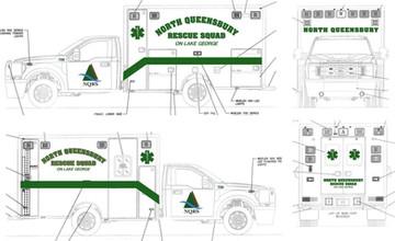 NQRS logo on community trucks