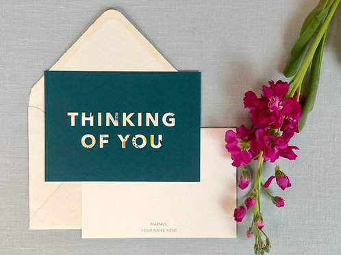 Thinking of You Cards and Envelopes