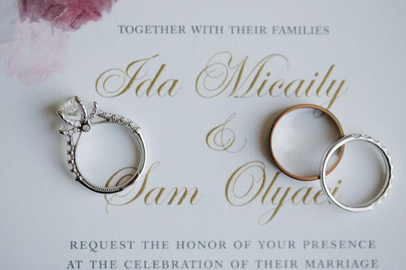 Ida & Sam Invitation close-up